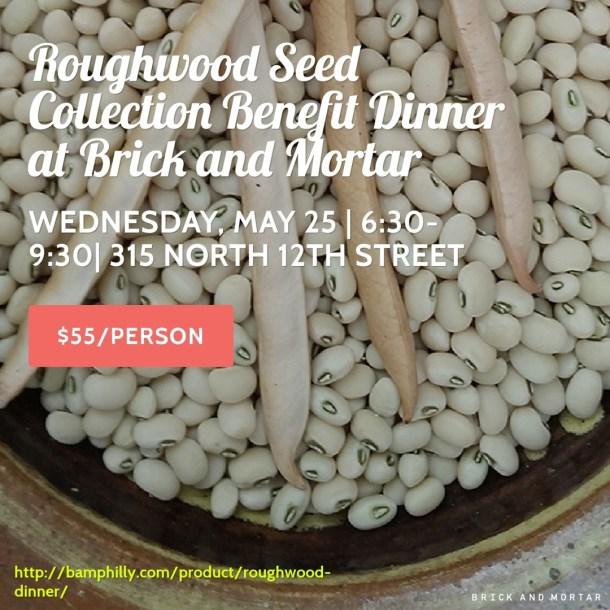 Roughwood Dinner at Brick & Mortar