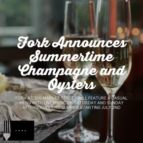 Fork Announces Summertime Champagne and Oysters