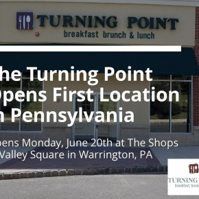 The Turning Point and Cowabunga Coffee Roasters to Open at The Shops at Valley Square in Warrington, PA