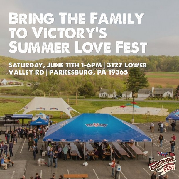 Victory Beer Summer Love Fest 2016