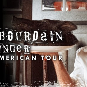 See Anthony Bourdain Live in Philadelphia on October 26
