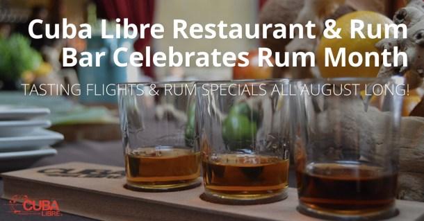 Cuba Libre Rum Month 2016