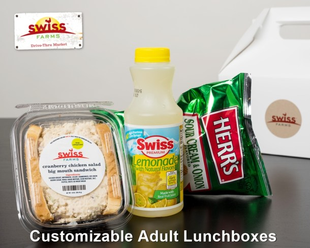 Swiss Farms Adult Lunchboxes