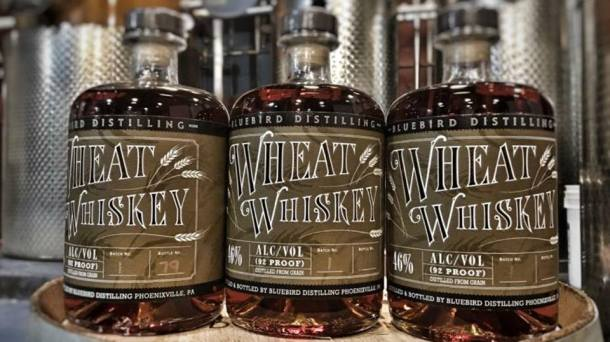 Bluebird Distilling Wheat Whiskey