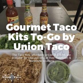 Gourmet Taco Kits To-Go from Union Taco