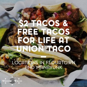 Get $2 Tacos on Day of the Dead and FREE Tacos for Life* at Union Taco