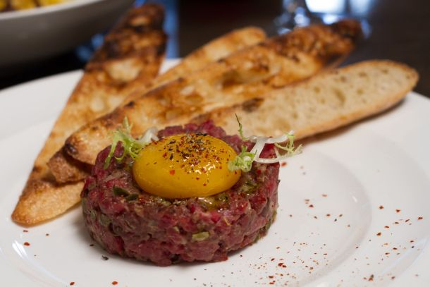 Buffalo Tartare at Fine Palate