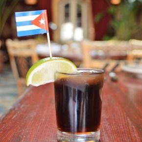 Complimentary Cuba Libre Cocktail at Old City's Cuba Libre