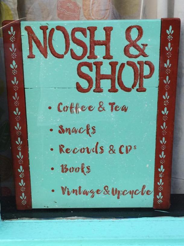 Abandoned Luncheonette Nosh & Shop Moorestown NJ