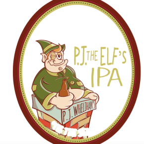 'P.J. the Elf' Beer Collab Between P.J.W. Restaurant Group & Yards Brewing Company