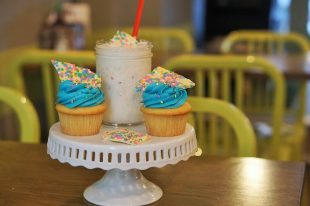 P'unk Burger Birthday Cake Shake