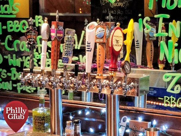 Catahoula Philly Beers on Tap