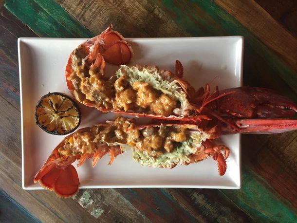 Lobster Savannah at Pinefish