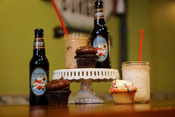 P'unk Burger 2nd Anniversary Boozy Cake Shake