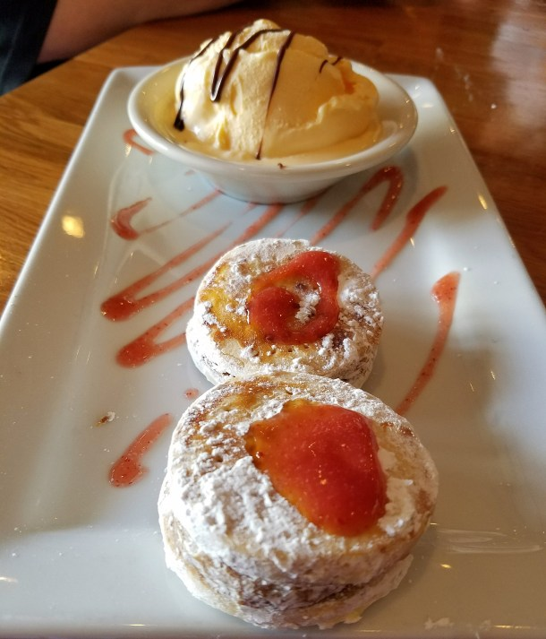 Alfajores Andinos at Quinoa Peruvian and Mexican Restaurant in Doylestown, PA