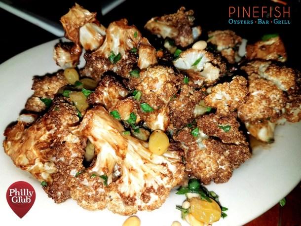 Fried Cauliflower at Pinefish