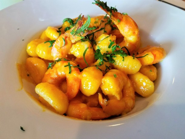 Gnocchi Andino at Quinoa Peruvian Mexican Restaurant in Doylestown, PA