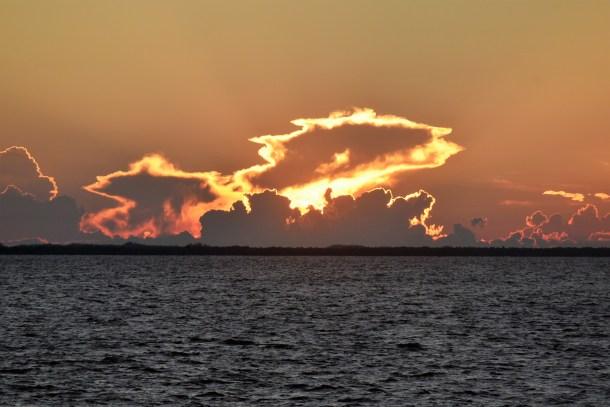 Sunset on Charlotte Harbor FL