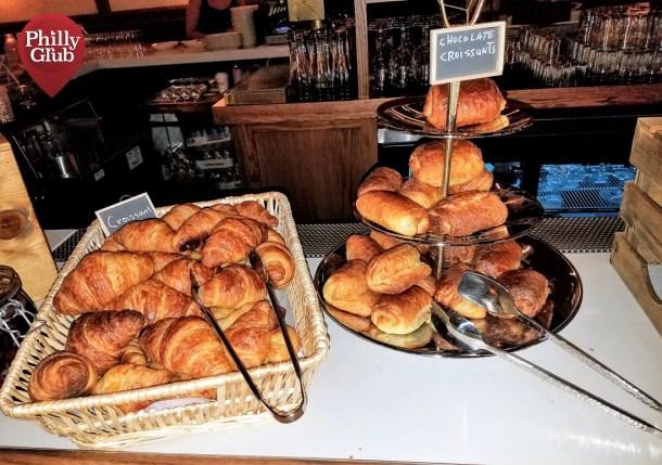 Harp & Crown Brunch Croissant