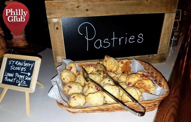 Harp & Crown Brunch Pastries