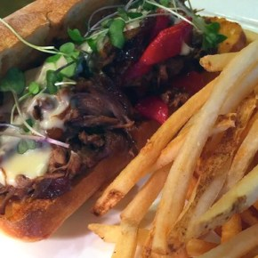Grubspotting: Short Rib Cheesesteak at Square 1682