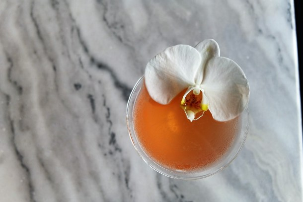 Blame It on the a-a-a-a-a-Aperol at Stratus Lounge