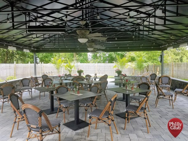 Farmhouse Cherry Hill Outdoor Patio