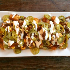Grubspotting: Loaded Tots at PHS Pop Up Garden