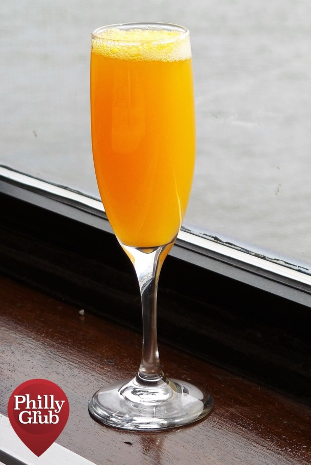 Peach Bellini Moshulu Brunch