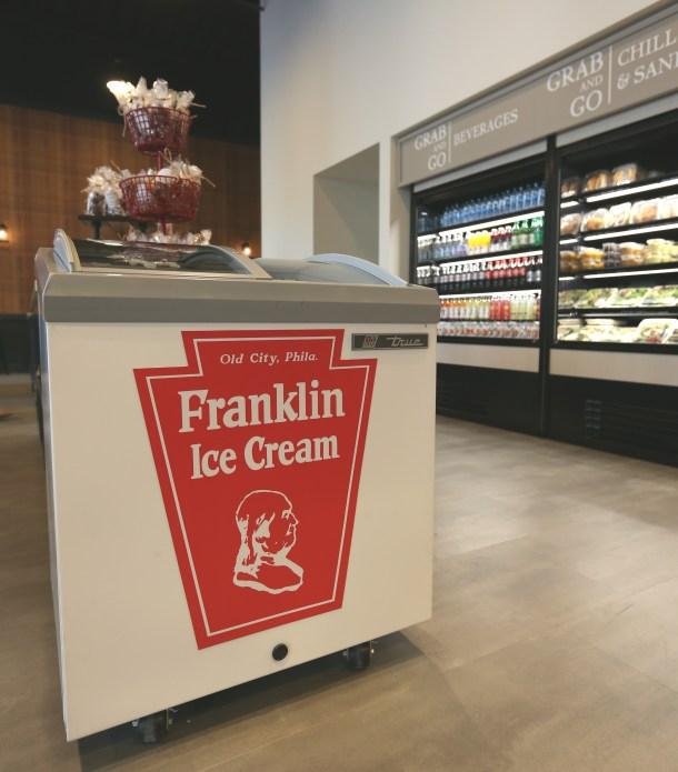 Franklin Fountain Cooler at Cross Keys Cafe
