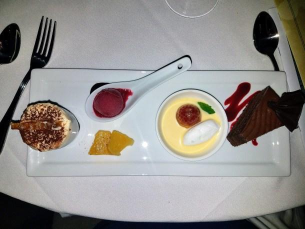 Le Bec-Fin Redux Four Desserts