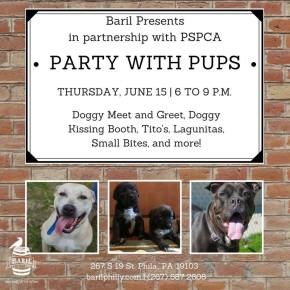 Party with Pups at Baril