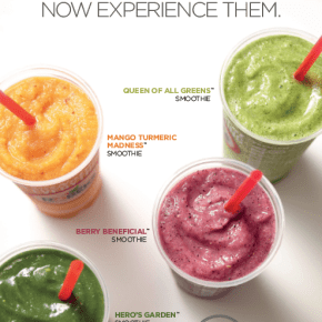 Robeks Introduces New Superfood Smoothies