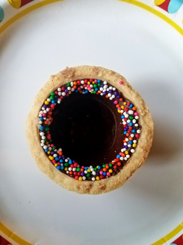Chocamo Rainbow Road Cookie Cup