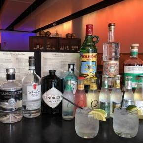 Create Your Own Gin & Tonic at Teresa's Café in Wayne