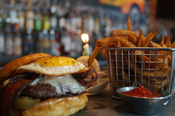 MilkBoy South Street 1st Anniversary Burger