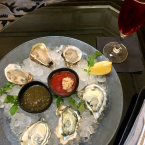 Celebrate National Oyster Day at Aqimero
