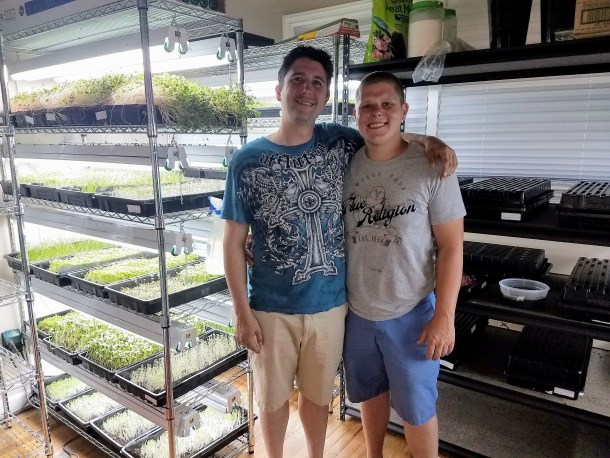 Patrick and Lewis of Indogrow Farms