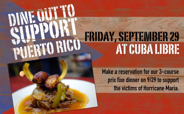 Cuba Libre Puerto Rico Support