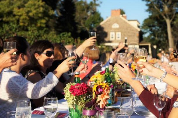 Outstanding in Her Field Farm Dinner Grace Winery