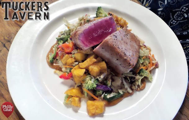 Tuckers Tavern Flash Seared Tuna