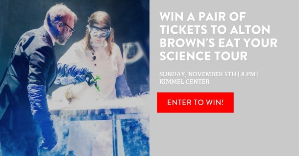 Alton Brown Eat Your Science Tour Giveaway