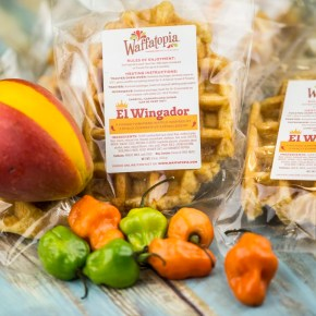 El Wingador & Waffatopia® Team Up on Special Waffle