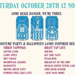 Cherry Hill's Forgotten Boardwalk Brewing Turns Three, Throwing Costume Party