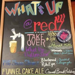 Redz Restaurant and Forgotten Boardwalk Brewing Beer Pairing Dinner