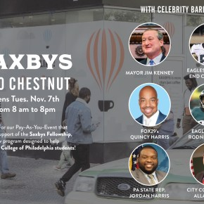 Saxbys at 1800 Chestnut Opens
