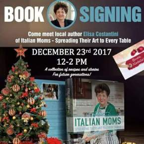 Cookbook Author Elisa Costantini at Fante's Kitchen Shop