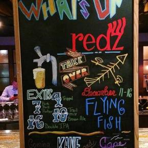 Redz Restaurant & Flying Fish Pair Up for Beer Dinner