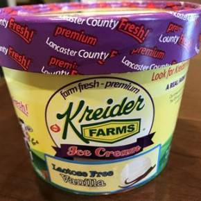 Kreider Farms Introduces Lactose-Free Ice Cream
