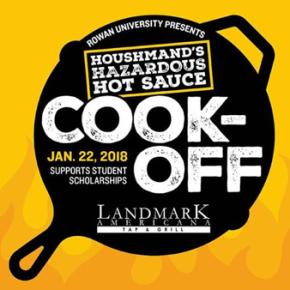 Landmark Americana Hosts Hot Sauce Cook-Off at Rowan University